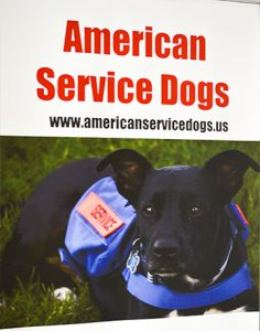 American Service Dogs sign