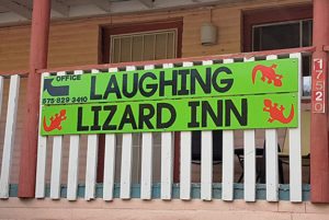 The Laughing Lizard Inn in Jemez Springs